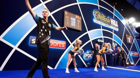 Max Hopp würde Darts gerne im Programm der Olympischen Spiele sehen.