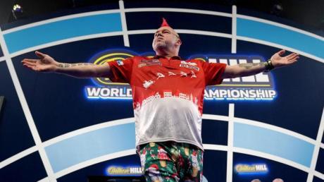 Will bei der Darts-WM ins Halbfinale: Peter Wright.