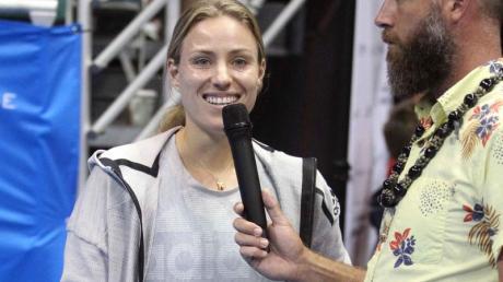 Angelique Kerber musste ihre Finalteilnahme auf Hawaii kurzfristig absagen.