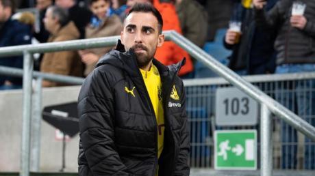 Paco Alcacér möchte den BVB verlassen.