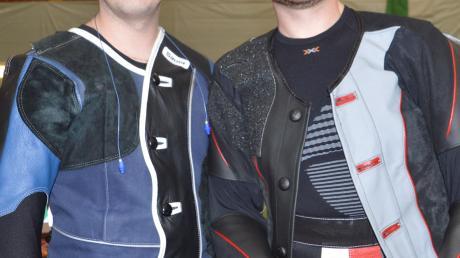 Marc Zellinger (links) und Christian Eger erzielten mit Rang zwei in der Schützenklasse das beste Ergebnis für den Ries-Gau Nördlingen.