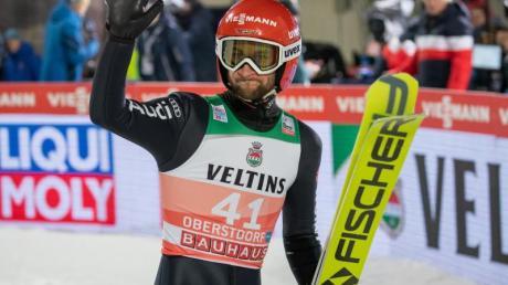 Markus Eisenbichler war im vergangenen Jahr Gesamt-Zweiter der Vierschanzentournee.