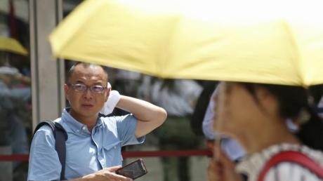 Schlag die Hitze lautet der IOC-Slogan für die Wettkämpfe in Tokio bei bis zu 40 Grad und nahezu unerträglich hoher Luftfeuchtigkeit.