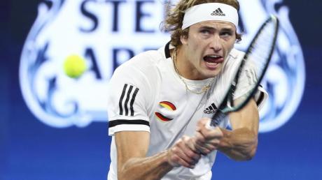 Alexander Zverev verlor sein Match gegen den Australier Alex de Minaur.