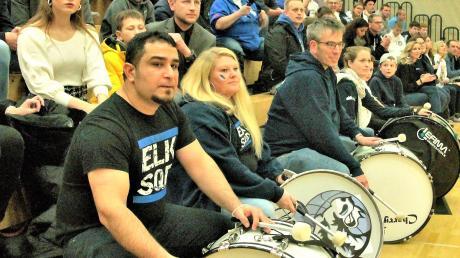 Elchinger Fans beim Derby gegen Ulm im November.