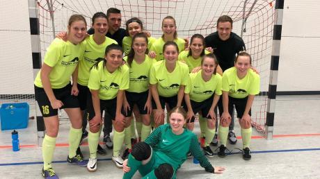 Die Frauen des SC Biberbach schalteten den Seriensieger Schwabe Augsburg aus und fahren zur schwäbischen Endrunde nach Günzburg.