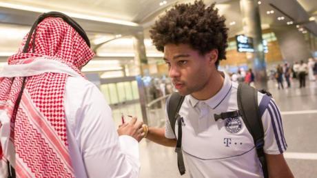 Ob Serge Gnabry überhaupt noch in Doha voll belastet werden kann, ist offen.
