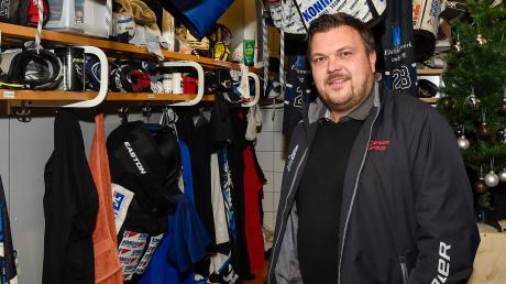 Michael Oswald, Teammanager der Landsberg Riverkings, freut sich auf die kommende Runde mit den Oberligisten.