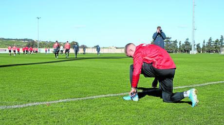 Philipp Max bereitet sich mit seinen Kollegen auf Malta auf die Bundesliga-Rückrunde vor.
