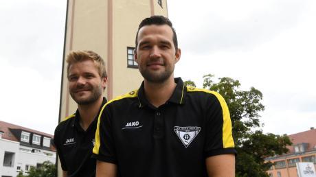 Florian Fischer und Mario Schmidt hören am Saisonende beim TSV Gersthofen auf.