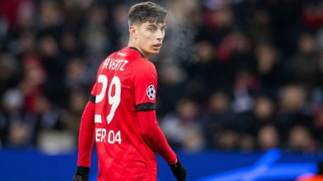 Kai Havertz steht in Leverkusen noch bis Sommer 2022 unter Vertrag.