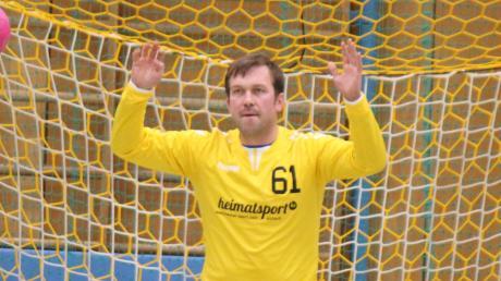 Martin Freiding wird auch beim TSV Göggingen die Nummer zwei im Aichacher Tor sein.