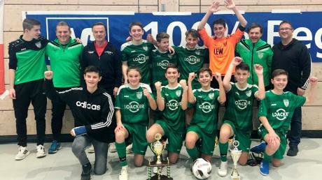 Die U15-Junioren des TSV Nördlingen sind durch einen knappen Finalsieg gegen die JFG Nordries Marktoffingen Kreismeister Donau-Ries im Futsal geworden.