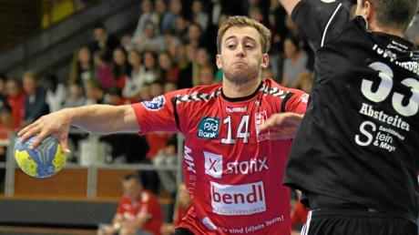 Nicolai Jensen fällt nach einer Verletzung im Winterurlaub für längere Zeit aus. Der Günzburger Spielmacher erzielte in dieser Saison bisher 32 Tore.