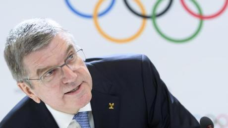 Thomas Bach ist der Präsident des Internationalen Olympischen Komitees (IOC).