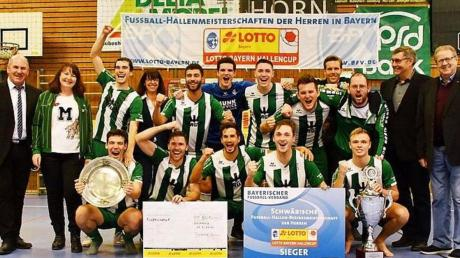 Wieder schwäbischer Futsal-Meister: der FC Gundelfingen.