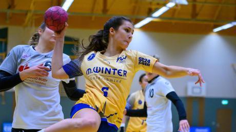 Selina Schuller zeigte beim Sieg der Schwabmünchner Handballerinnen eine starke Leistung und erzielte sechs Treffer.