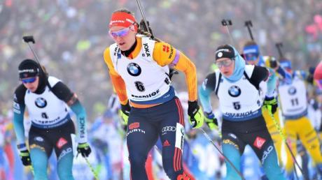 Wurde Fünfte beim Massenstartrennen: Denise Herrmann (M/6).