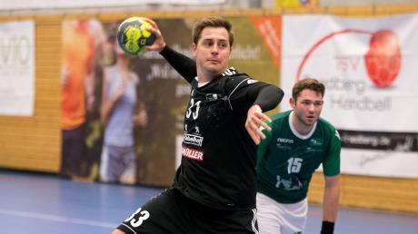 Fabian Abstreiter war einmal mehr der beste Werfer der Friedberger Bayernliga-Handballer. Beim 33:28-Auswärtssieg des TSV 1862 ging mit elf Treffern gleich ein Drittel aller Friedberger Tore auf sein Konto.