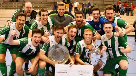 Bei der schwäbischen Futsalmeisterschaft verteidigte der FC Gundelfingen  erfolgreich seinen Titel.
