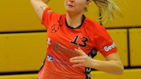Von der rechten Außenposition erfolgreich: Jennifer Kling traf gegen Donauwörth achtmal für ihre TVG-Damen.