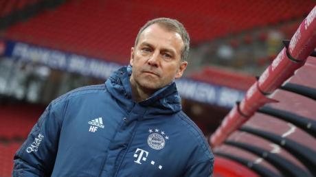 Bayern-Cheftrainer Hansi Flick ist auch bei seinen Spielern sehr beliebt.