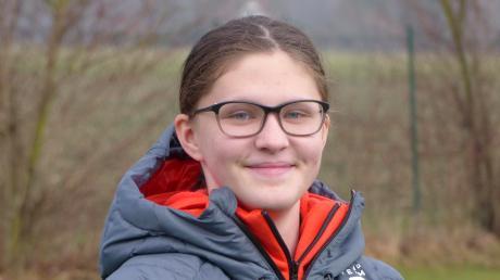 Katharina Häckelsmiller spielt bei den Landsberg Riverkings im Nachwuchs. Am Mittwoch fährt siezu den olympischen Jugendspielen nach Lausanne.