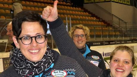 Nach dem Europacup holte sich das erste Kühbacher Frauenteam (im Bild) auch die Bundesligameisterschaft. Veronika Filgertshofer (links), Regina Gilg (rechts) konnten sich freuen. So lief es bei den weiteren Kühbacher Teams.