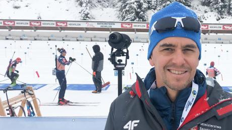 Olympiasieger Michael Greis bereitet nun die polnischen Biathletinnen auf Olympia 2022 in Peking vor.