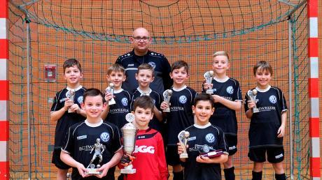 Die F-Junioren des SV Hammerschmiede gewannen das Turnier um den 1. Arthotel-Ana-Cup des SV Wulfertshausen.