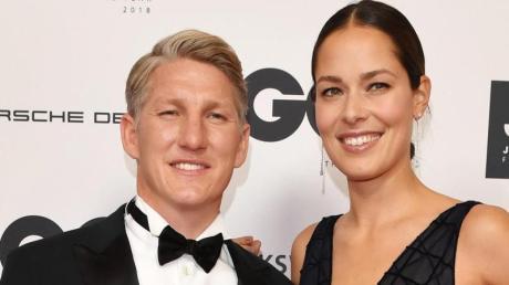 Bastian Schweinsteiger und Ehefrau Ana Schweinsteiger-Ivanovic.