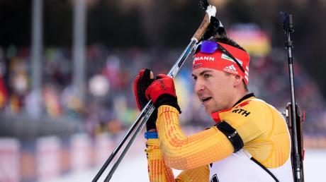 In der Weltspitze angekommen: Der Allgäuer Biathlet Philipp Nawrath lief im Weltcup-Sprint von Ruhpolding auf den siebten Platz.