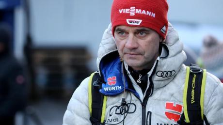 Versucht die positiven Aspekte der Skisprung-Misere zu sehen: Stefan Horngacher.