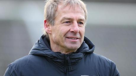 Steht zum Rückrundenstart vor einem Wiedersehen mit dem FC Bayern München: Herthas Trainer Jürgen Klinsmann.