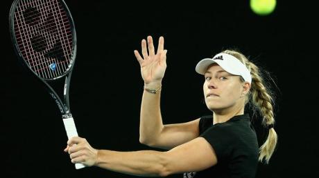 Beim ersten Grand-Slam-Turnier der neuen Saison wird Angelique Kerber auf eine Qualifikantin treffen.