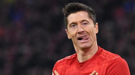 Kann gegen Hertha BSC auflaufen: Bayern-Star Robert Lewandowski.
