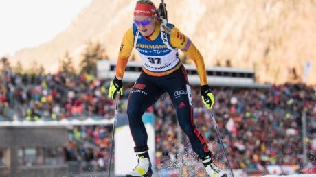 Biathlon-Weltcup 2019/2020 heute: Am 19.1.20 steht für Denise Herrmann die Verfolgung auf dem Plan. Alle Infos rund um Zeitplan, Termine und Rennkalender hier bei uns.