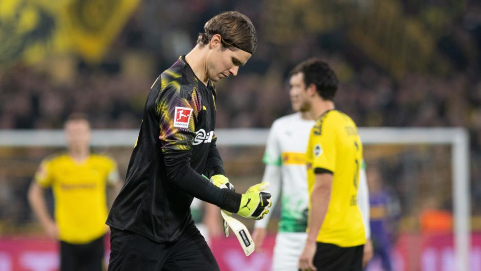 Marwin Hitz wechselte 2018 mit großen Hoffnungen vom FC Augsburg zu Borussia Dortmund. Bislang ist er beim BVB aber nur Ersatzkeeper.