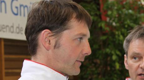 """Buttenwiesens Mannschaftsführer Markus Sommer (links) macht sich im Hinblick auf die kommende Zweitligasaison so seine Gedanken. """"Dieses Derby werden wir vermissen."""""""