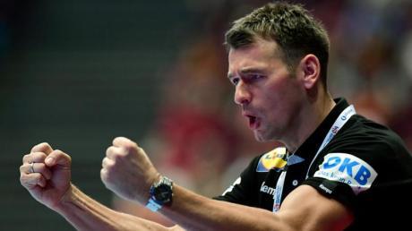 Ist mit Deutschlands Handballern gegen Kroatien gefordert: Bundestrainer Christian Prokop.