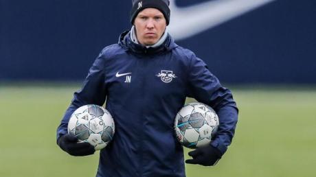 Geht mit Leipzig als Tabellenführer in die Rückrunde: RB-Coach Julian Nagelsmann.