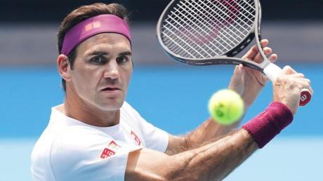 Roger Federer zählt sich selbst nicht zu den Australian-Open-Favoriten.