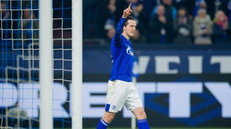 Schalkes Neuzugang Michael Gregoritsch erzielte den Treffer zum 2:0.