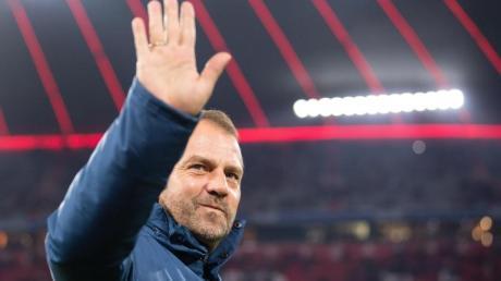 Fühlt sich beim FC Bayern richtig wohl: Trainer Hansi Flick.