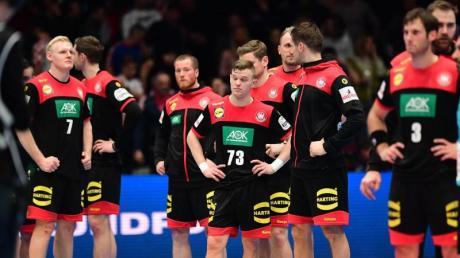 Die DHB-Auswahl verlor am Samstag in Wien knapp gegen Kroatien.