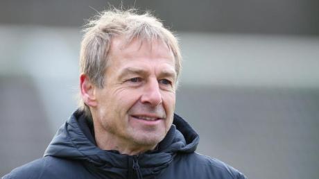 Hertha-Trainer Jürgen Klinsmann plant erst einmal bis zum Sommer.