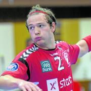 In entscheidenden Phasen sorgte Frieder Bandlow praktisch im Alleingang dafür, dass die Günzburger auf Augenhöhe mit den Gästen blieben. Insgesamt erzielte der noch für die A-Jugend spielberechtigte Handballer 13 Treffer.