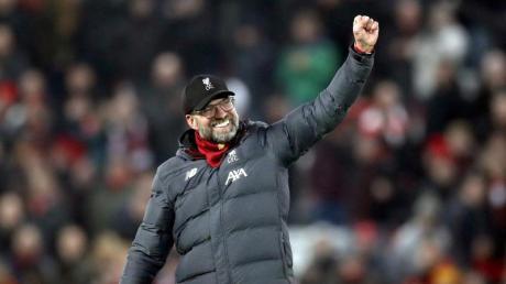 Besiegte mit dem FCLiverpool auch Manchester United: Trainer Jürgen Klopp.