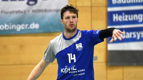 Matthias Kraus verletzte sich beim Gastspiel der Bobinger in Ichenhausen, das mit 26:28 verloren ging.