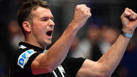 Bundestrainer Prokop jubelt. Handball-EM 2020 heute: Spielplan, TV-Termine und Zeitplan - hier gibt es alle Infos zum Turnier. Wann spielt Deutschland gegen Tschechien?